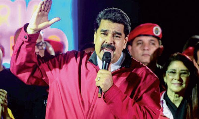 Le Président socialiste a célébré devant ses partisans sur la place Bolivar au centre de Caracas ce qu'il a qualifié de «plus grand vote de la révolution bolivarienne depuis 18 ans».