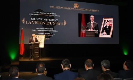 M. Haitami : «le succès retentissant remporté par la première édition et l'engouement suscité par le sujet du co-développement nous ont poussés à poursuivre l'objectif d'approfondir l'analyse de la vision de Sa Majesté du Co-développement». Ph. Saour