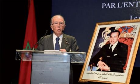 Marcelino Oreja, ancien ministre des Affaires étrangères, président de l'Académie royale des sciences morales et politiques, Espagne