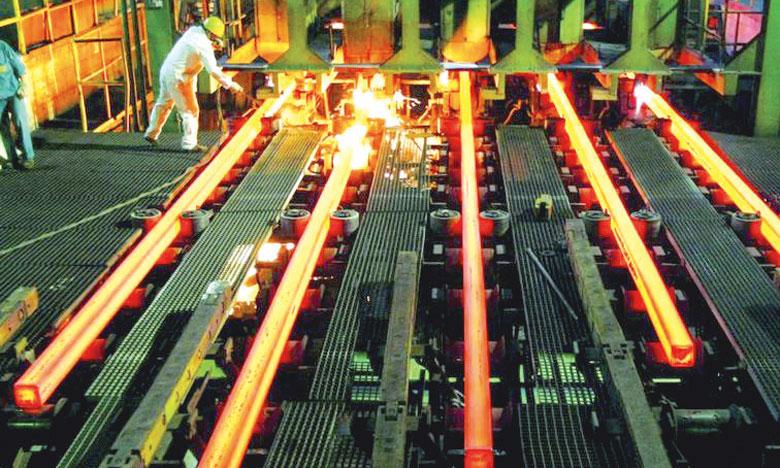 Un niveau record de la production chinoise d'acier en juin