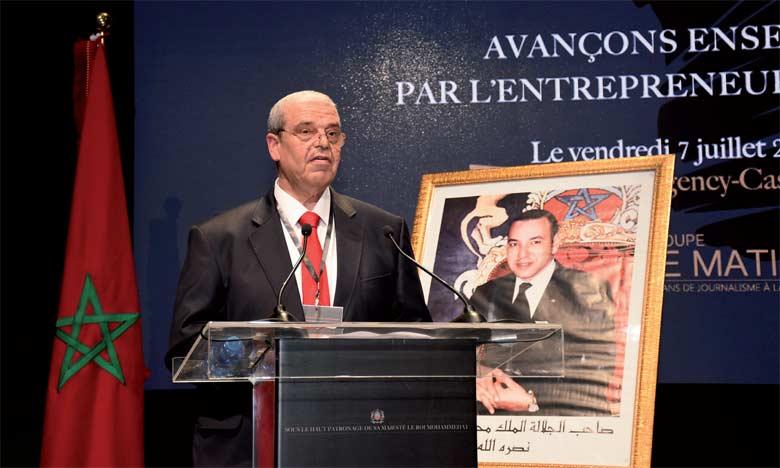 Mohammed Haitami, PDG du Groupe Le Matin, directeur des publications
