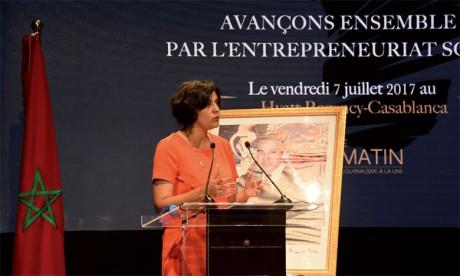 Myriam El Khomri, ancienne ministre française du Travail, de l'emploi,  de la formation professionnelle et du dialogue social
