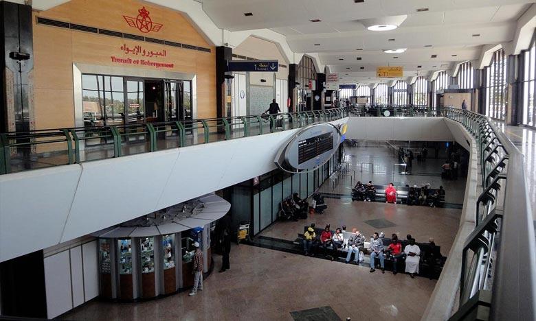 L'aéroport Mohammed V de Casablanca a contribué, à lui seul, à hauteur de 45,20% à cette hausse, ce qui représente 590.794 passagers. Ph : DR