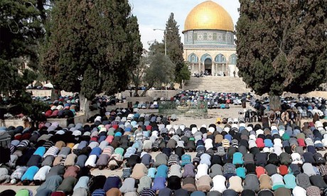 Prière du vendredi sous haute tension à Al-Qods après des restrictions imposées aux fidèles