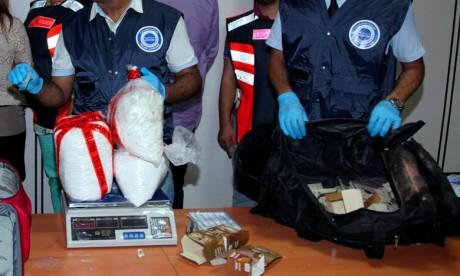 Un Ghanéen appréhendé en possession de 9,580 kg de cocaïne