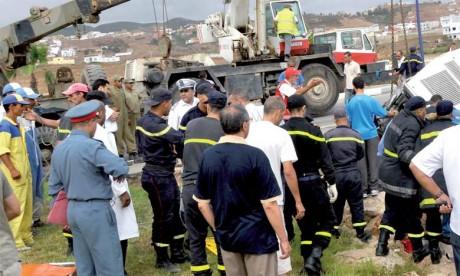 Dix-huit morts et 1.740 blessés en périmètre  urbain la semaine dernière