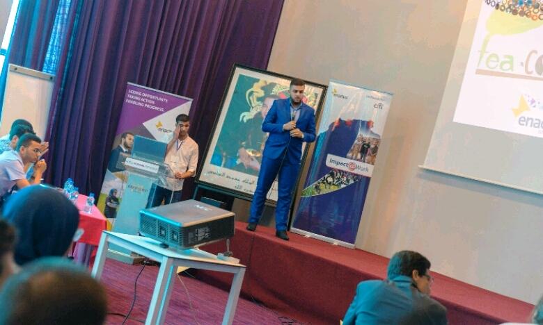 Actuellement, une caravane de l'entrepreneuriat social est organisée dans 5 villes de l'Oriental : Taza, Ahfir, Jerada, Berkane et Taourirt. Ph : DR