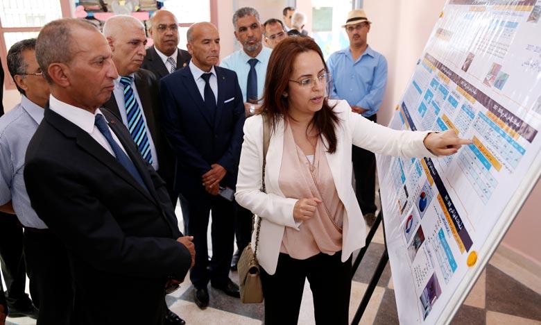 Hassad s'enquiert de l'état des établissements éducatifs