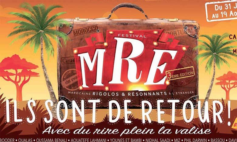 Les «Marocains rigolos et résonnants  à l'étranger» en tournée jusqu'au 19 août