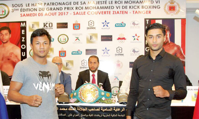 Mohamed Mezouari gagne dans  la catégorie 76 kg à Tanger