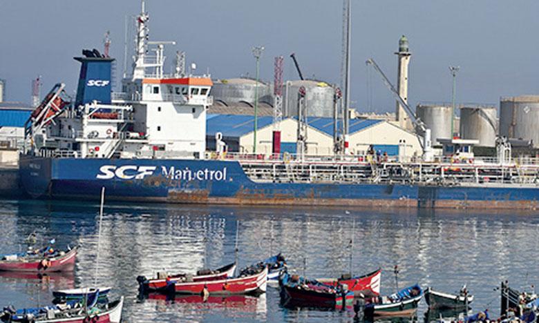 Après l'arrêt de la Samir, l'import des produits raffinés par de grands navires et le transbordement à bord des navires de petite taille à destination des autres ports reste envisageable, souligne l'ANP.