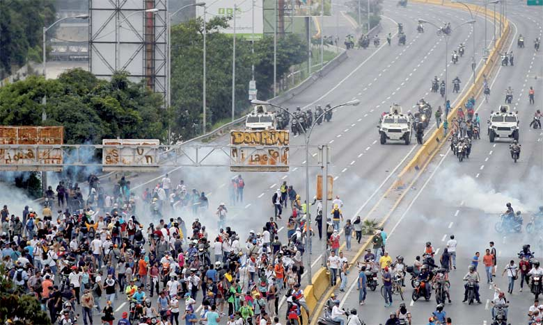 La coalition de l'opposition a appelé à une nouvelle manifestation mercredi à Caracas afin de dénoncer «l'illégitimité» de la nouvelle Assemblée.