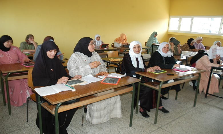 Le taux d'analphabétisme de la population marocaine a baissé de deux tiers sur un demi siècle