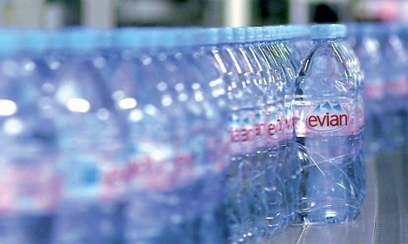 Danone veut booster sa division eau grâce à Evian