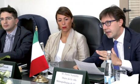 Fès et Florence s'engagent à rapprocher leurs communautés d'affaires