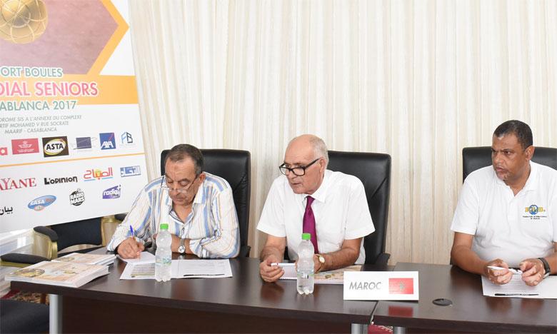 Casablanca compte l'un des trois centres de formation agréés par la Fédération internationale  de sport-boules.