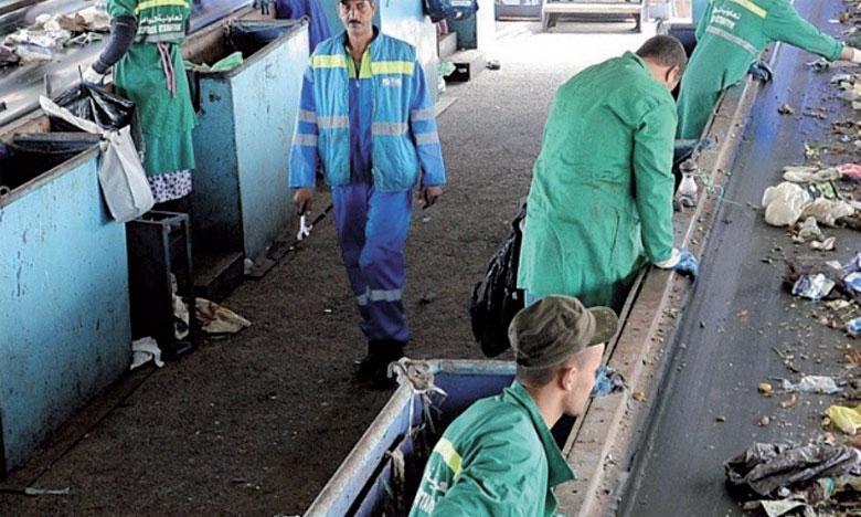 L'atelier prévoit une visite au centre d'enfouissement et de valorisation  des déchets d'Oum Azza. Ph. AFP.