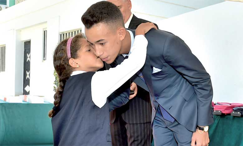 S.A.R. le Prince Héritier Moulay El Hassan donne à Rabat  le coup d'envoi officiel de la rentrée scolaire, universitaire et de la formation professionnelle 2017-2018