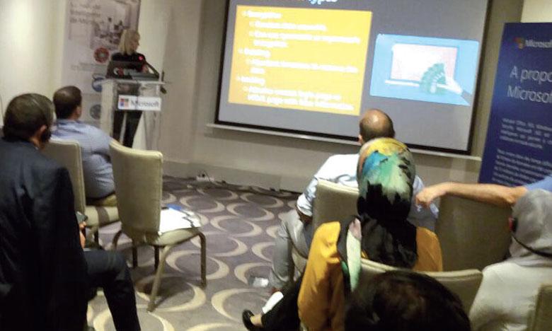La rencontre, organisée hier à Casablanca, a été animée par Paula Januszkiewicz, experte internationale de la sécurité informatique.