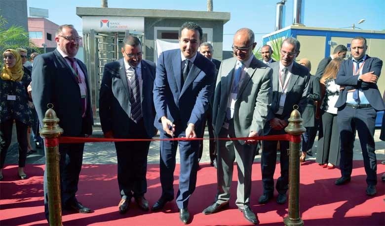 Le premier Datacenter made in Morocco a été inauguré par Othmane Ferdaous, secrétaire d'État chargé de l'Investissement.