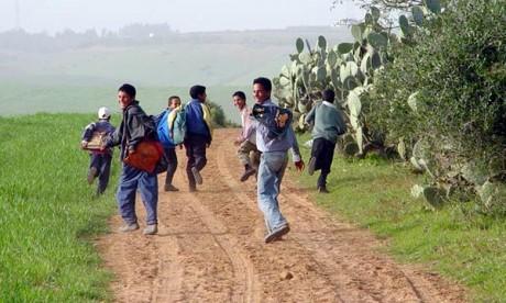 Lutte contre la déperdition scolaire à Khouribga