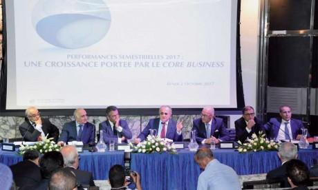 Rentabilité semestrielle record dopée  par les filiales subsahariennes