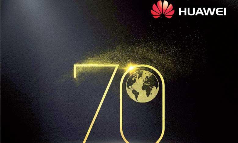 Huawei gagne deux places au classement