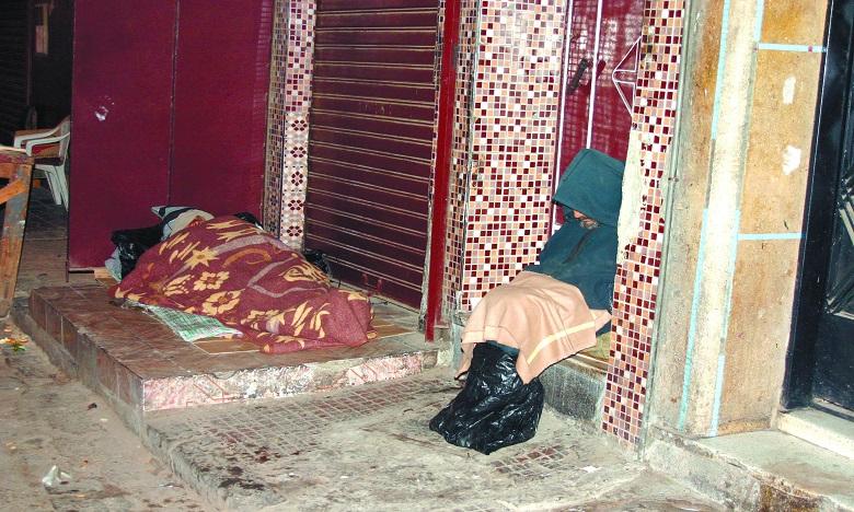 Le Maroc compte quelque 7.226 personnes sans abri