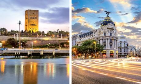 Rabat et Madrid, ensemble pour un renforcement  des liens d'amitié et de partenariat stratégique