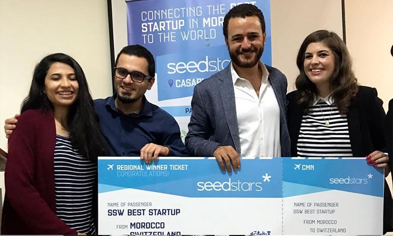Le titre de meilleure startup au Maroc permettra à Hooplacar de représenter le Maroc à la compétition mondiale prévue en Suisse le 12 avril 2018. Ph : DR