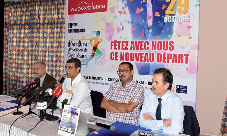 Le Marathon international de Casablanca se propose d'être «une nouvelle ode à Casa», selon les organisateurs. Ph Seddik