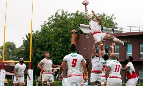 Le Maroc, Champion arabe de Rugby