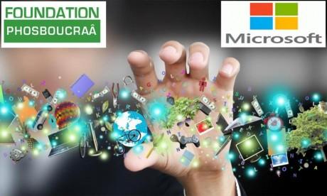 Microsoft et la Fondation Phosboucraâ renforcent les compétences du Sud