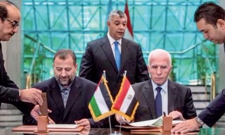 Un accord de réconciliation entre  le Hamas et Fatah signé au Caire