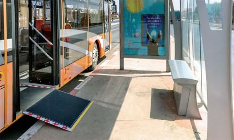 Les bus électriques sillonnent  désormais la ville de Marrakech