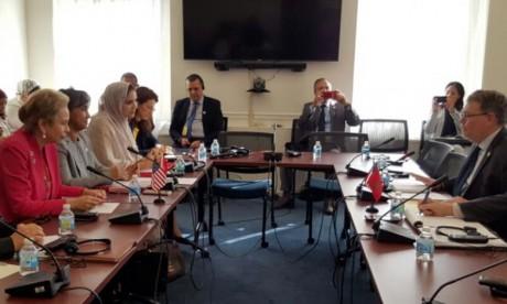 Le Comité conjoint chargé du suivi de l'Accord de libre-échange tenu à Washington
