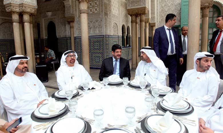 Une délégation d'Hommes d'affaires émiratis s'enquiert des opportunités d'investissement dans la région