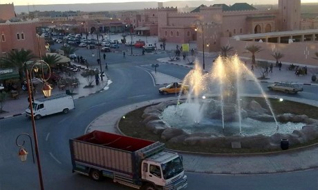 Amara s'informe des projets d'infrastructures à Zagora