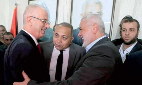 Le gouvernement tient son premier Conseil des ministres à Gaza depuis 2007