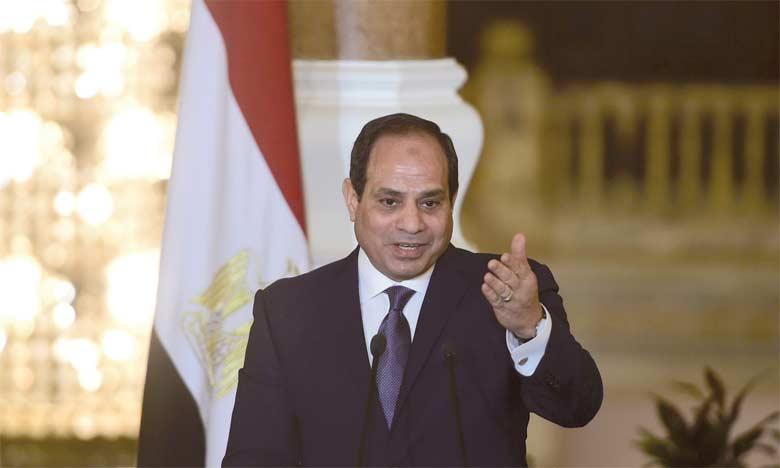 Le Président Abdel Fattah Al-Sissi accorde trois mois à l'armée pour sécuriser le Sinaï