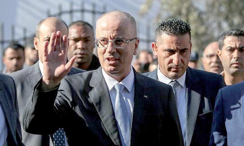 Hamdallah appelle à intensifier le mouvement pour contraindre Israël à se conformer à la légalité internationale