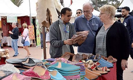 Une foire met en valeur les activités génératrices  de revenu de l'INDH