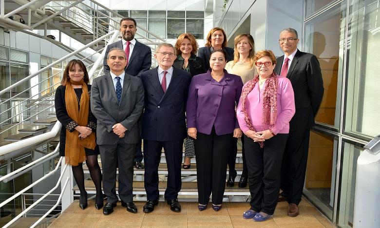Les membres du jury. Ph. DR