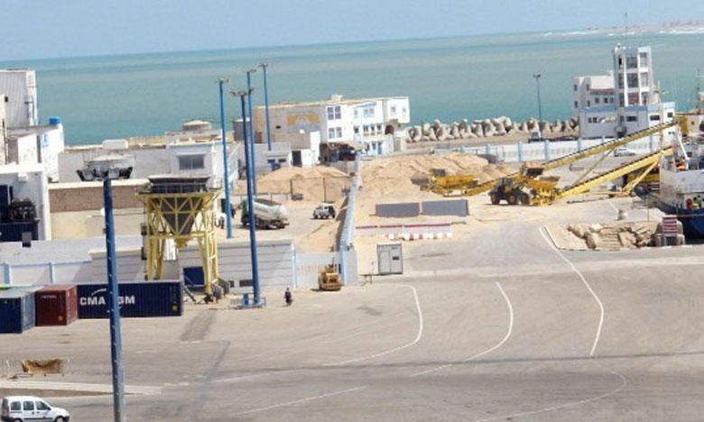 Un nouveau visage en perspective pour le port de Laâyoune