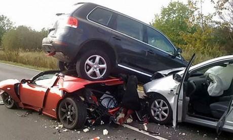 17 morts dans 1.384 accidents en une semaine