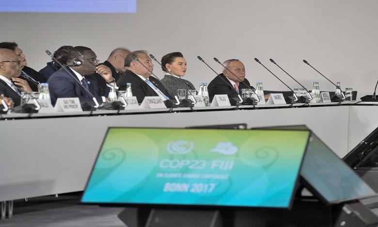 S.A.R. la Princesse Lalla Hasnaa représente S.M. le Roi à la cérémonie d'ouverture du segment de haut niveau de la COP 23