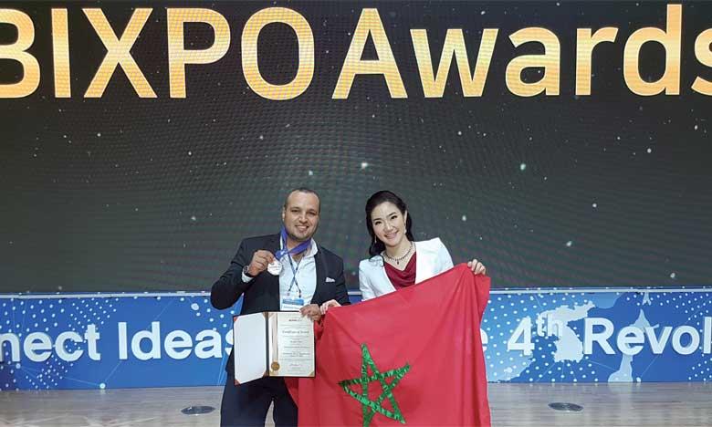 Le jeune doctorant Abdelkader Mezouari a porté haut les couleurs nationales en Corée du Sud.
