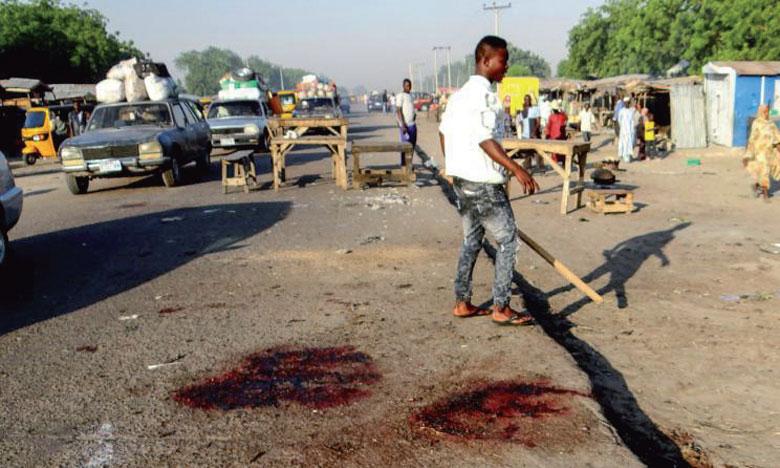 Au moins 50 morts dans  un attentat-suicide