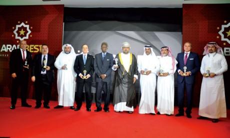 Itissalat Al-Maghrib, l'ONCF, la FRMF,  le WAC  et Al-Omrane primés