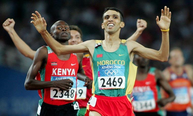 Le légendaire Hicham El Guerrouj est l'un des meilleurs athlètes du 1.500 m, dont le record du monde établie à Rome en 1998 résiste toujours et qu'aucun autre athlète n'a pu battre. Ph : DR